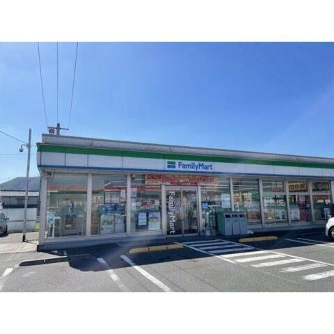 コンビニ。ファミリーマート福山駅家店。歩いていけます。距離:362m。